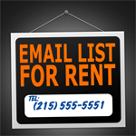 Rent email list