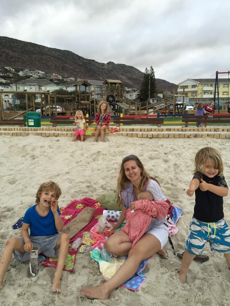 Picnic on the beach!